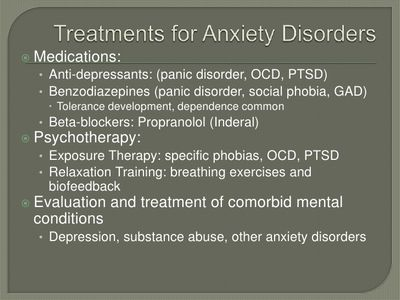 Arousal Therapy - Treatment For Anxiety and Phobias